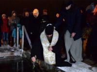 Епископ Спиридон совершил чин великого освящения вод реки Белой
