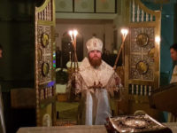 В канун 33-й Недели по Пятидесятнице епископ Спиридон совершил всенощное бдение в храме Казанских святителей