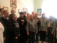 Епископ Спиридон совершил рождественский молебен для постояльцев ПНИ в поселке Зеленый