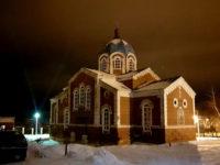 Епископ Спиридон молился за уставным богослужением в храме Казанских святителей