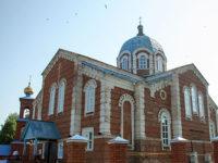 В день престольного праздника в храме в честь Казанских святителей совершена Божественная литургия
