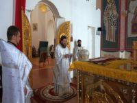 Во Вселенскую родительскую субботу Владыка возглавил Литургию в кафедральном соборе