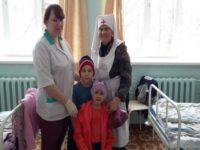 Социальная служба Бирской епархии оказала помощь детям из малоимущей семьи