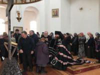 Епископ Спиридон совершил вечерню и чин Пассии в кафедральном соборе города Бирска