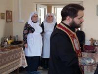 Духовенство Бирского округа совершило Таинство Причащения в паллиативном отделении Бирской ЦРБ