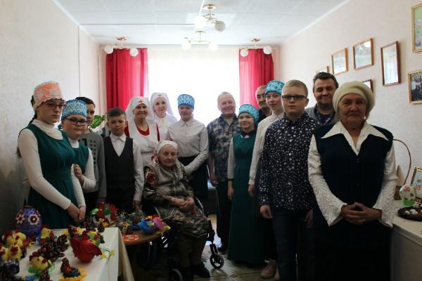 Учащиеся Воскресной школы провели концерт для инвалидов ПНИ