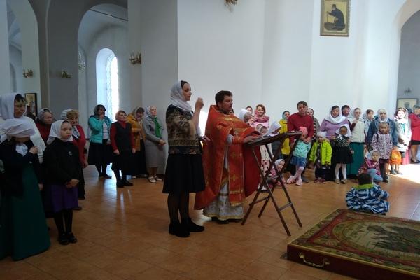 Перед летними каникулами прошел последний урок Воскресной школы города Бирска