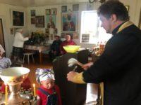 В селе Калинники состоялась Божественная литургия и молебен о учащихся