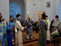 В празднование Казанской иконе Божией Матери епископ Спиридон возглавил Божественную литургию в Свято-Троицком кафедральном соборе Бирска