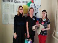 Участницы женского клуба «София» передали очередной подарок отделению анестезиологии и реанимации новорожденных РДКБ Уфы