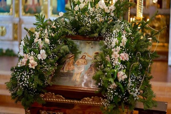В праздник Крещения Господня епископ Спиридон возглавил Литургию и чин Великого освящения воды в кафедральном соборе Бирска