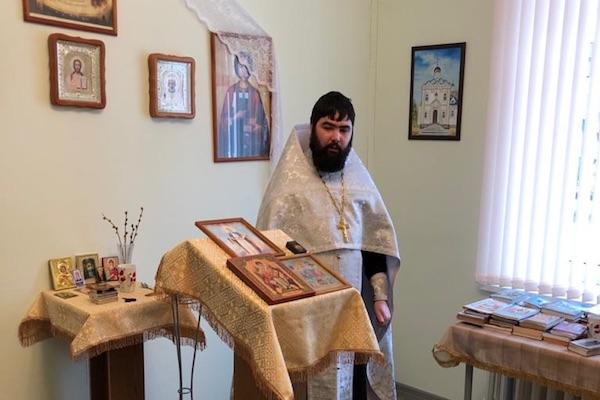 Руководитель отдела ЦБСС епархии посетил ПНИ Бирска