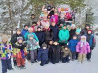 Зимние развлечения для воспитанников воскресной школы села Байки