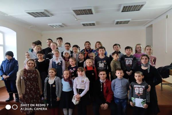 Скауты Братства православных следопытов города Уфы посетили воскресную школу Бирска