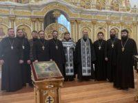 Духовник Бирской епархии совершил исповедь духовенства в Свято-Троицком кафедральном соборе Бирска