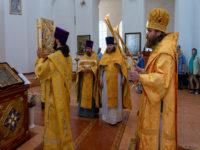 В день кончины епископа Бирского и Белорецкого Илии (Казанцева) епископ Спиридон совершил Литургию в кафедральном соборе Бирска