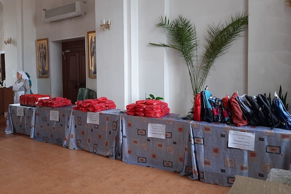 """В городе Бирске завершилась вторая часть социальной акции """"Помоги собраться в школу"""""""