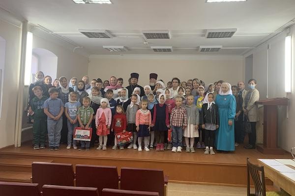 В воскресной школе в честь святых равноапостольных Кирилла и Мефодия города Бирска начался учебный год