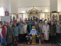 В Покровском храме села Мишкино состоялось праздничное богослужение в честь престольного праздника