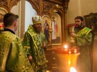 В день памяти прав. Иоанна Кронштадтского епископ Спиридон совершил Литургию в Михайло-Архангельском храме Бирска
