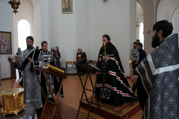 Чин Пассии в кафедральном соборе