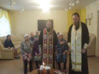 Духовенство Бирского благочиния совершило соборование с филиале ПНИ города Бирска