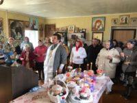 Освящение пасхальной снеди совершено в двух храмах Бирского благочиния