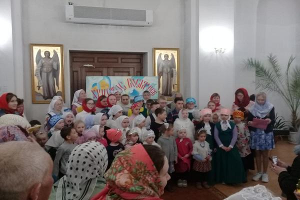 Учащиеся Воскресной школы Бирска подготовили Пасхальный концерт