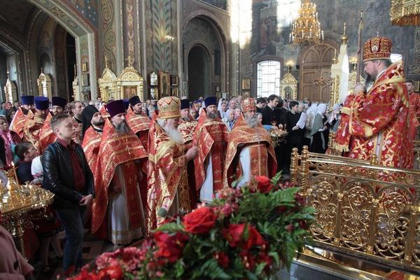 Клирик Бирской епархии принял участие в торжествах престольного праздника Патриаршего подворья Николо-Перервинского монастыря г. Москвы