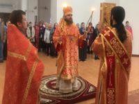 Преосвященнейший епископ Спиридон в день Радоницы совершил Божественную литургию в кафедральном соборе