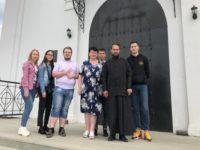 Студенты исторического факультета Стерлитамакского филиала БашГУ посетили с экскурсией Михаило-Архангельский храм города Бирска
