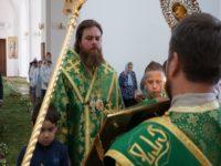 В преддверии Дня Святой Троицы епископ Спиридон совершил всенощное бдение в кафедральном соборе Бирска