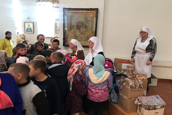 Сестричество милосердия города Бирска провело благотворительную акцию «Собери ребенка в школу»