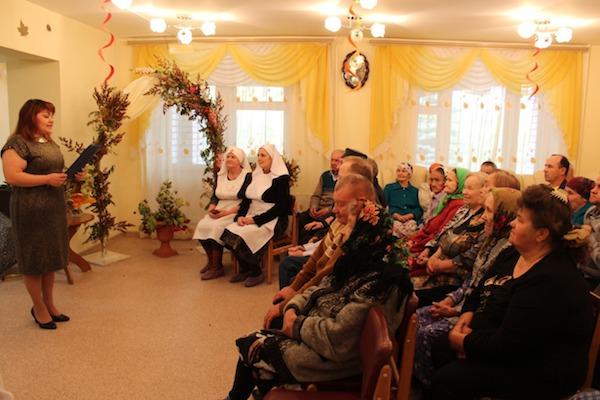 День пожилых людей в ПНИ Бирска
