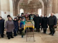 Благочинный Бирского округа совершил богослужение в Михаило-Архангельском храме села Николаевка