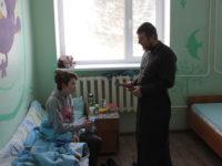 В храме Архистратига Божия Михаила с. Байки состоялось Рождественское богослужение и благотворительная акция