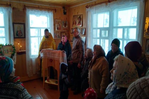 Престольный праздник в храме села Новомулакаево