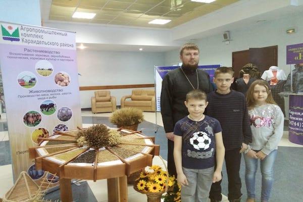Экспозиция изготовленная воспитанниками воскресной школы храма села Байки была выставлена на форуме «Линия успеха-2020»