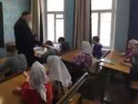 В воскресной школе Бирска прошел школьный тур Олимпиады по Закону Божьему