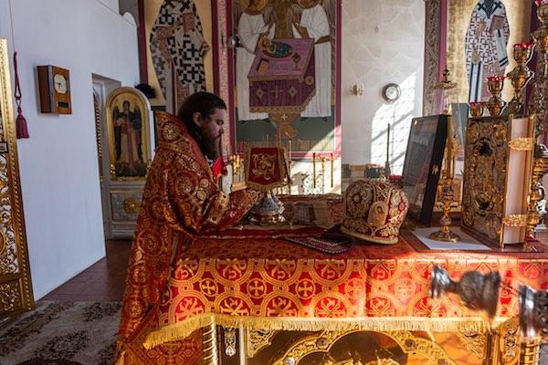 В пятницу Светлой седмицы епископ Спиридон совершил Божественную литургию в кафедральном соборе Бирска
