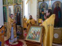 В день празднования памяти святителя Николая Чудотворца Архипастырь совершил Литургию в храме Казанских святителей Бирска