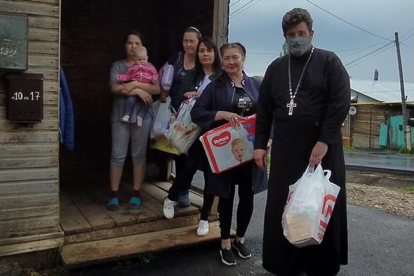 Руководитель ОЦБСС епархии принял участие в благотворительной акции