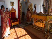 В день памяти царственных страстотерпцев епископ Спиридон совершил Литургию в кафедральном соборе Бирска