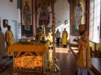 В празднования памяти равноапостольного великого князя Владимира епископ Спиридон совершил Литургию в кафедральном соборе Бирска