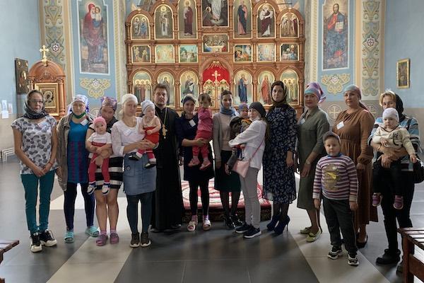 В Михаило-Архангельском храме Бирска прошло мероприятие «Семейные встречи»