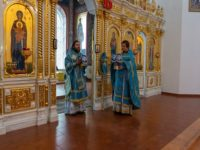 В праздник Рождества Пресвятой Богородицы епископ Спиридон возглавил Литургию в кафедральном соборе Бирска