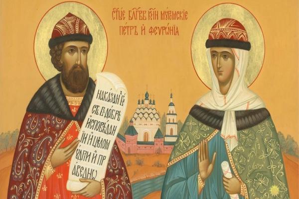 В Бирскую епархию прибудут мощи святых князей Петра и Февронии Муромских