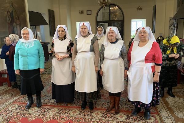 Сестричество милосердия города Бирска празднует пятилетие своей деятельности