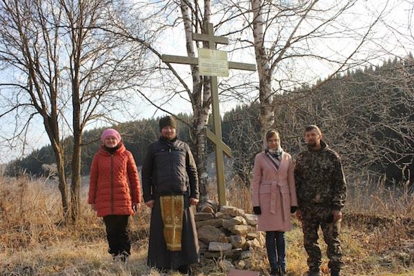 На месте разрушенного храма деревни Апрелево Караидельского района совершен молебен