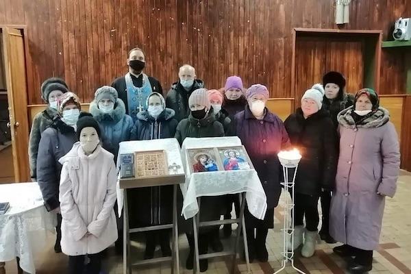 В селе Суслово Бирского района совершен молебен перед началом всякого доброго дела